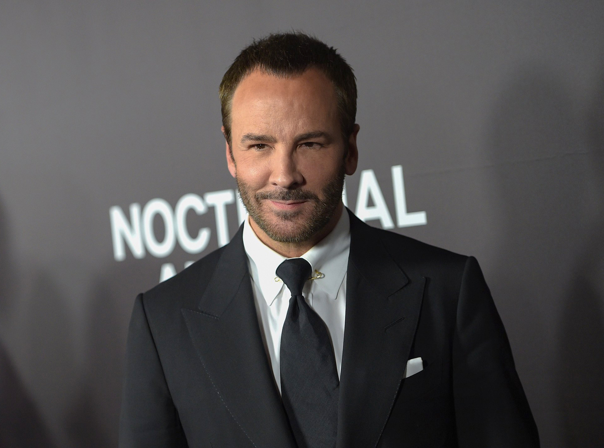 Tom Ford in his own suit brand