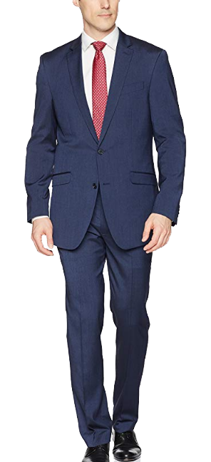 Classic-fit navy suit by Kenneth Cole REACTION