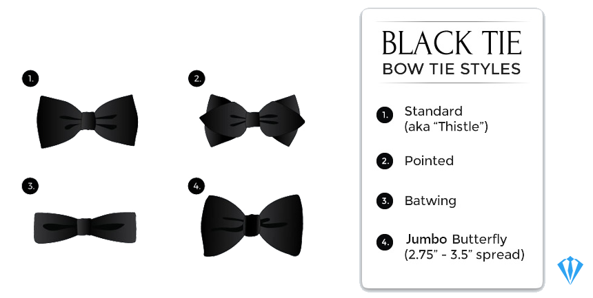 Bow ties for black-tie events
