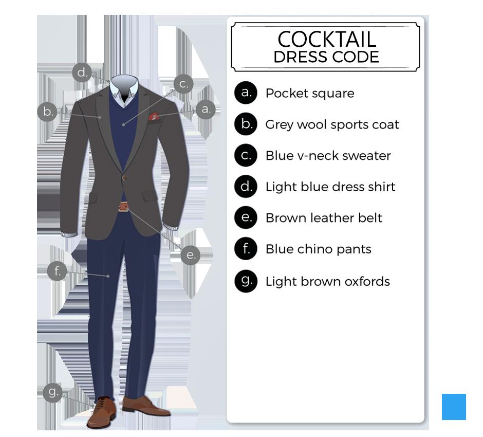 Cocktail dress code attire