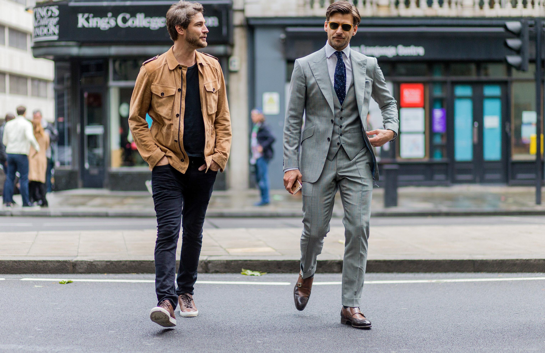 Men's dress code types guide