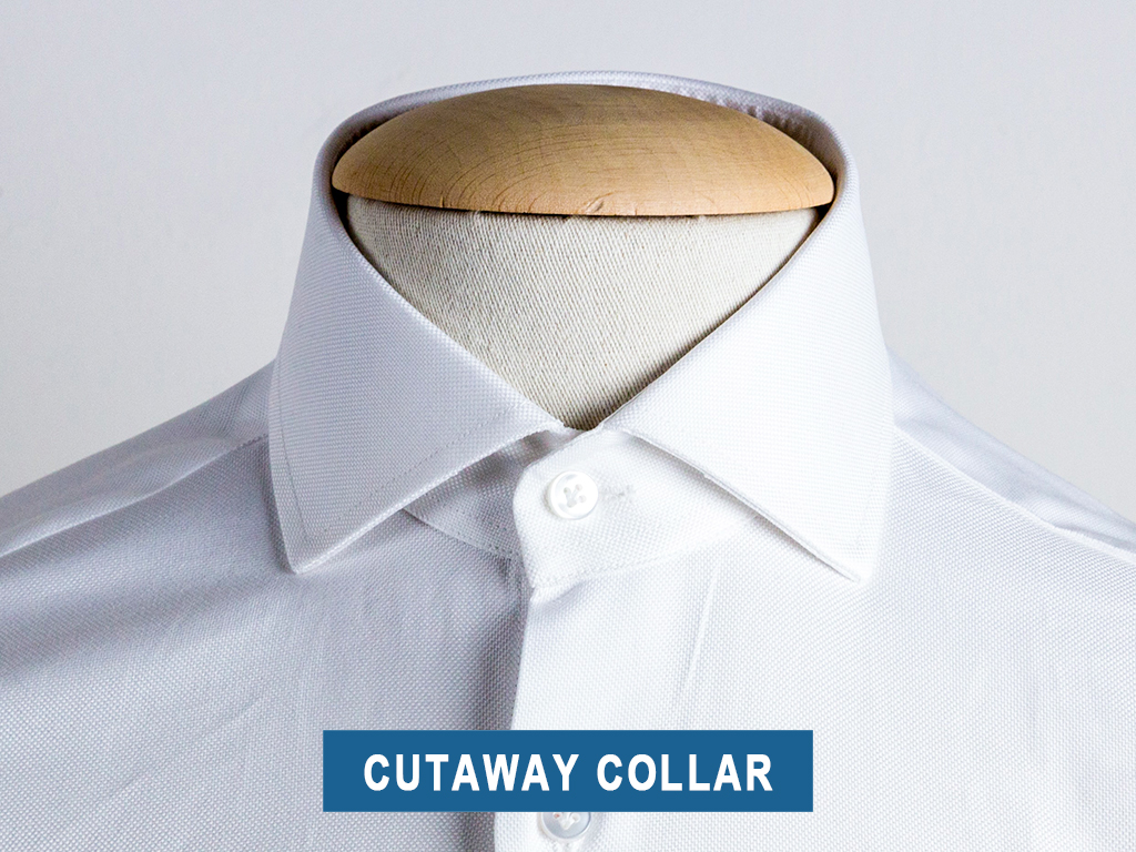 The cutaway collar type