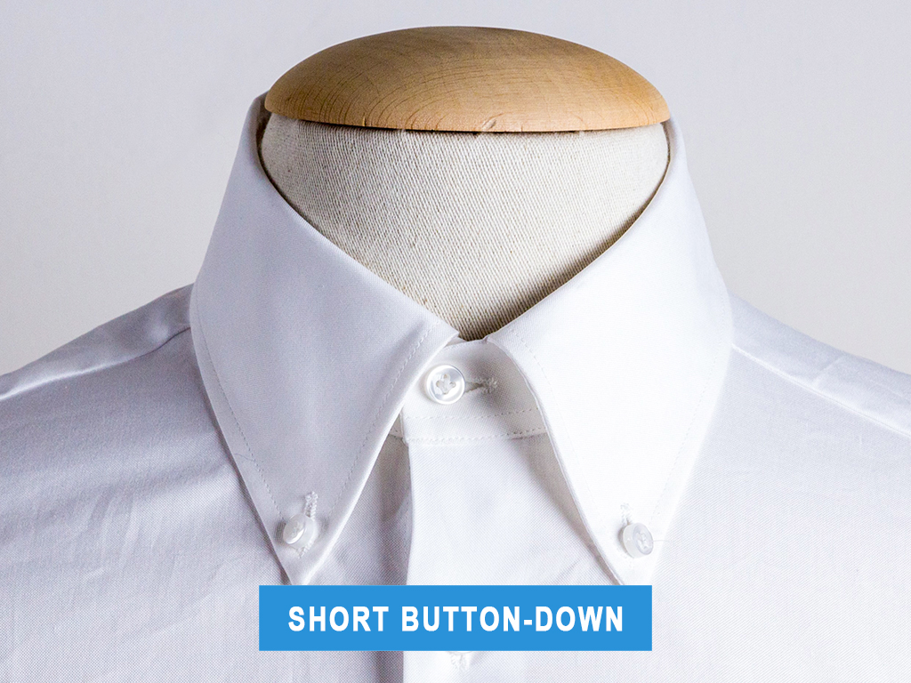 The short button-down collar type