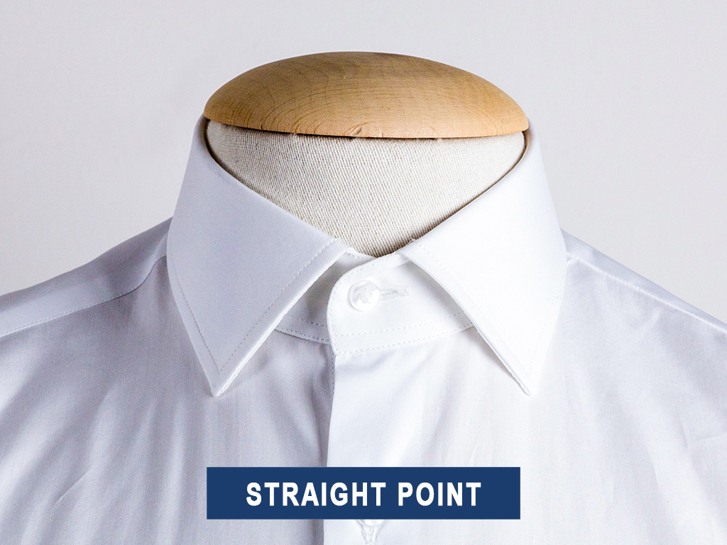 Straight point collar type