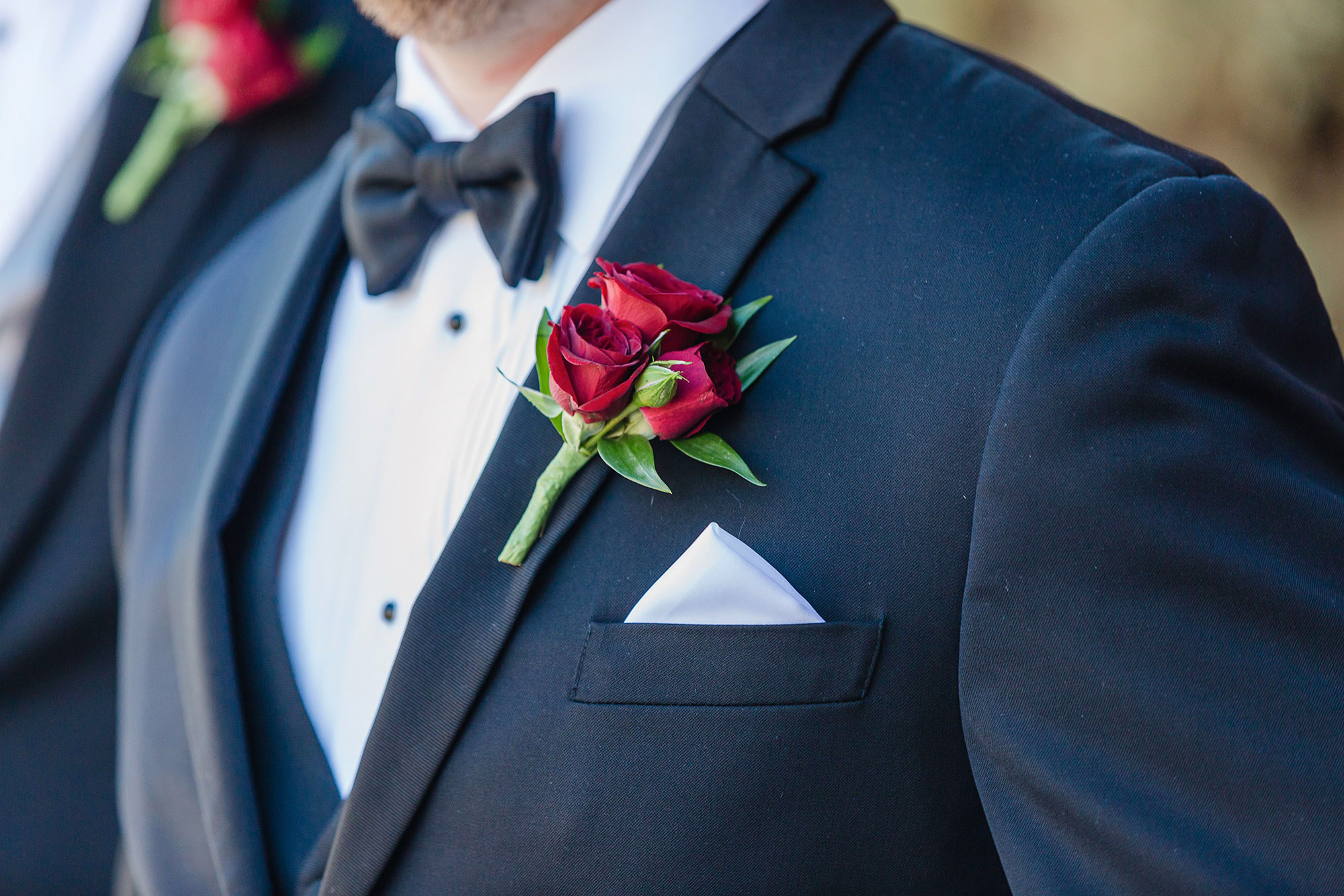 a boutonniere can look classy