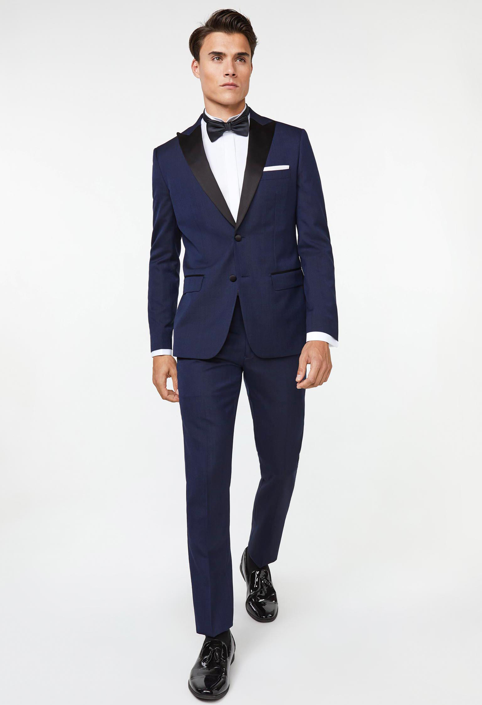 affordable tuxedo made of polyester