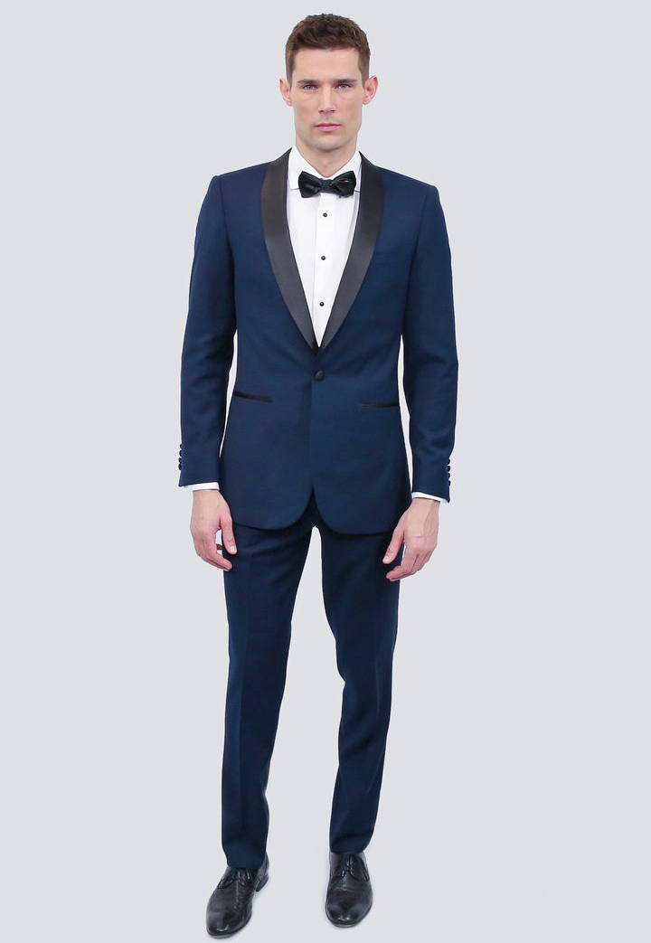 affordable tuxedo made of wool blends