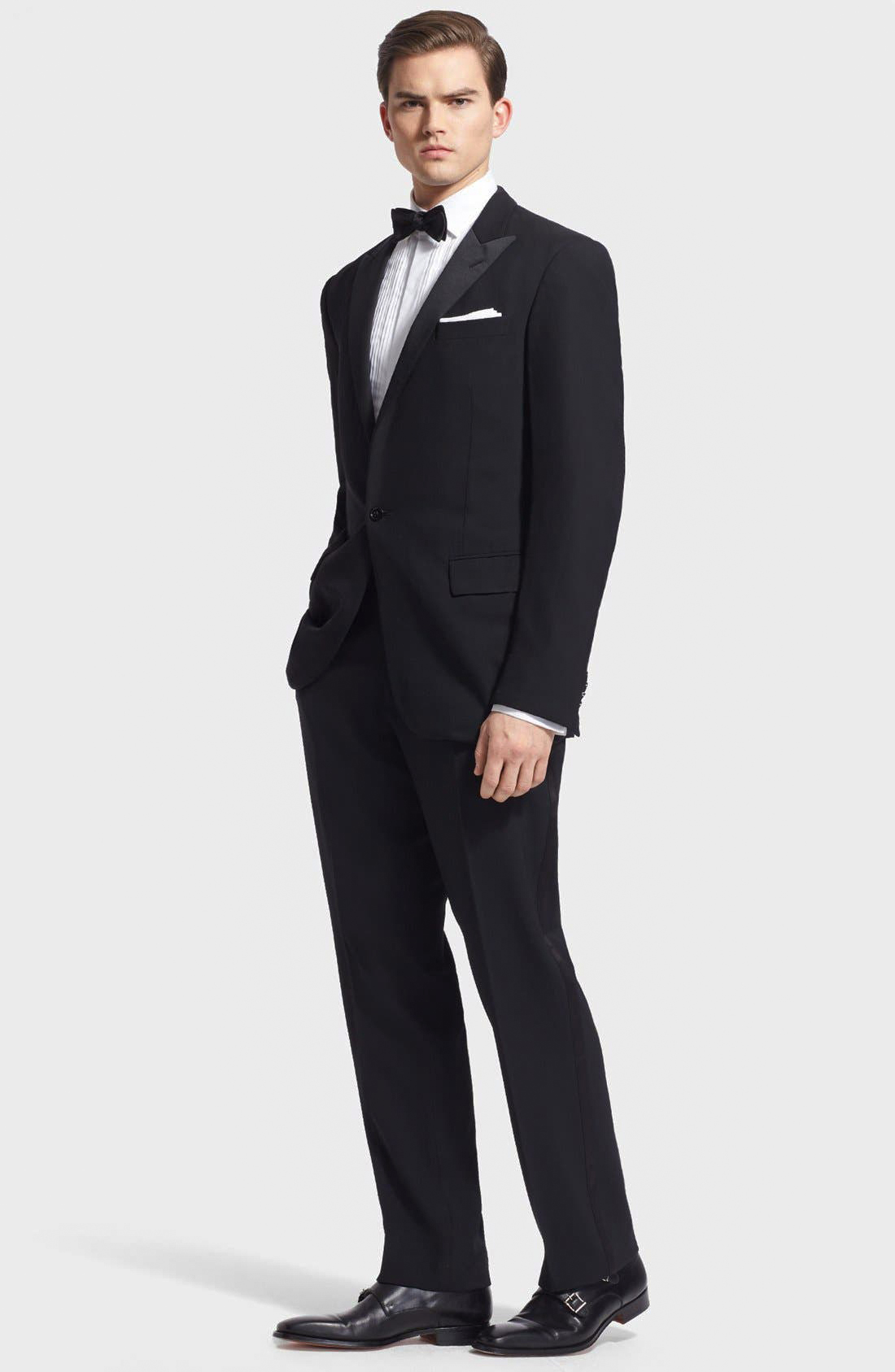 affordable tuxedo made of wool