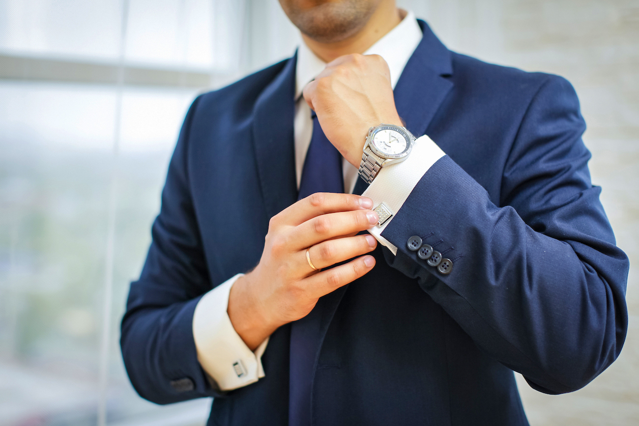 Affordable watches can be a good match with a suit