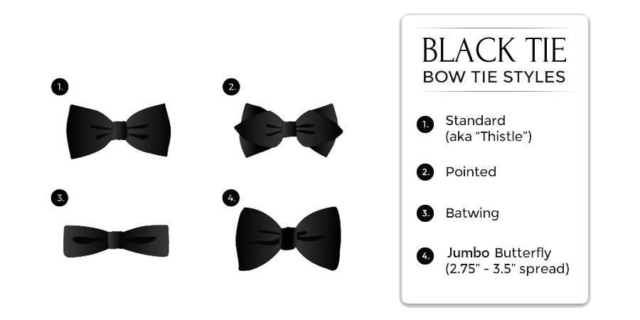black-tie attire: bow ties