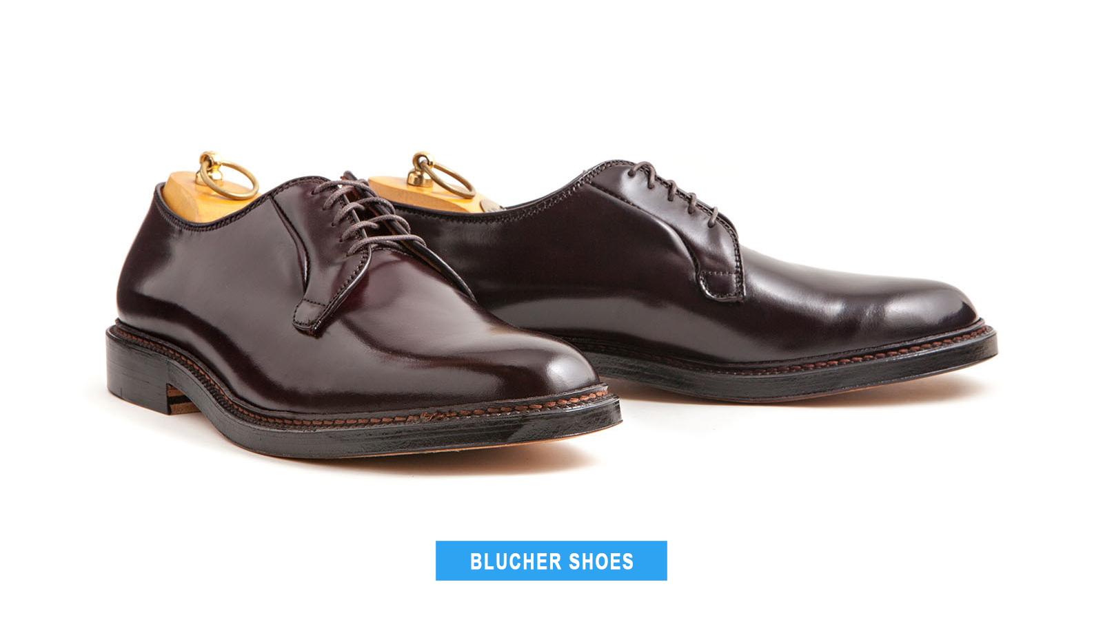 blucher dress shoes style