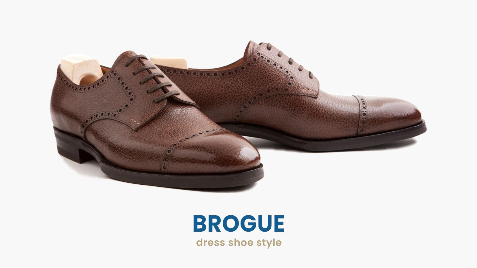 brogue dress shoes style