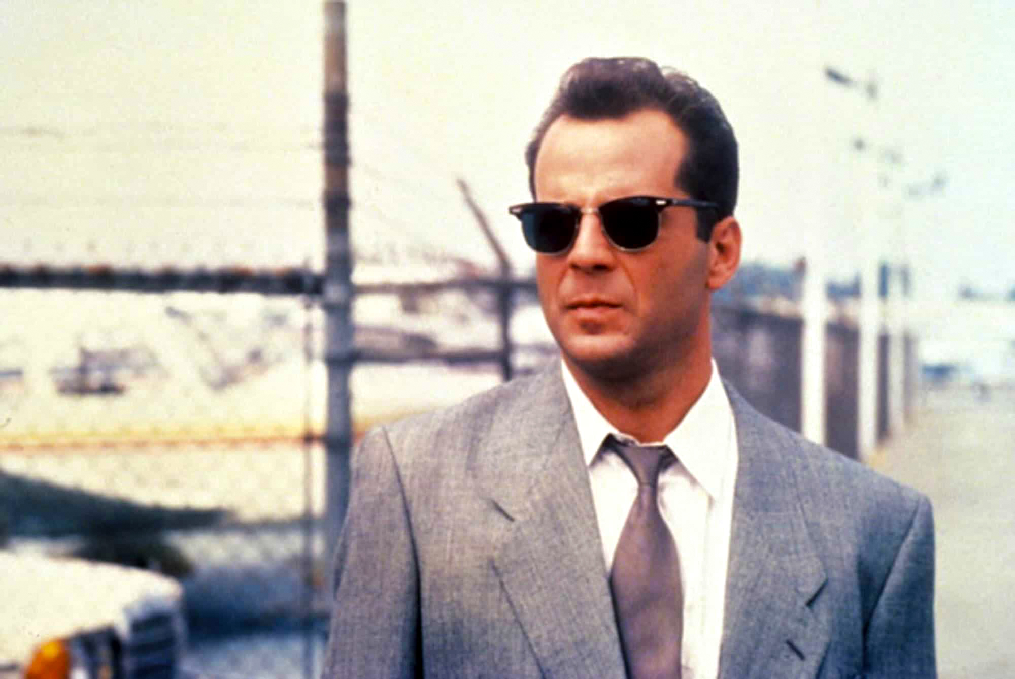 Bruce Willis wears a pair of clubmasters