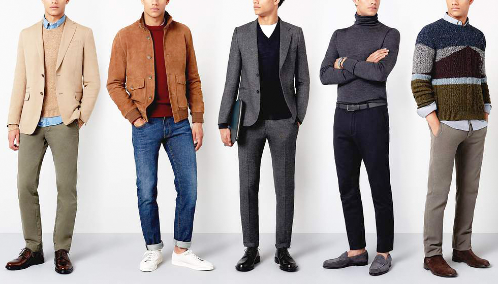 men's business casual attire examples