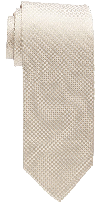 foulard tan/beige tie by Calvin Klein
