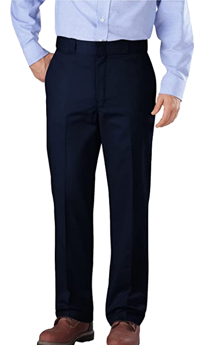classic fit navy dress pants by Dickies