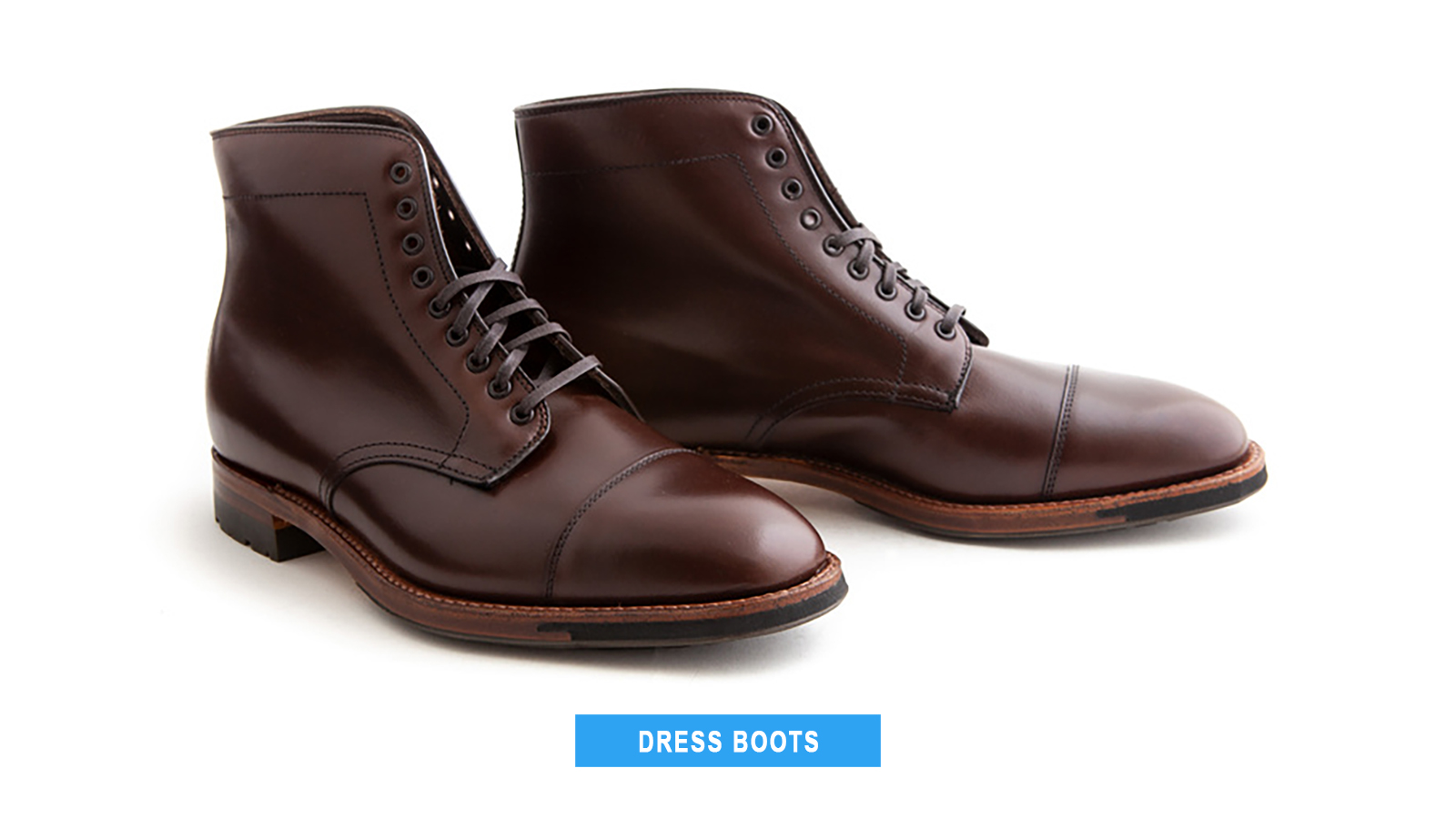 dress boot shoe style