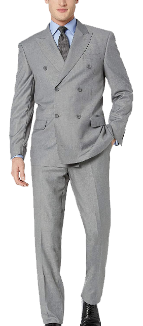 Double-breasted two piece suit by Giorgio Fiorelli
