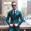 green suit color combinations with shirt and tie