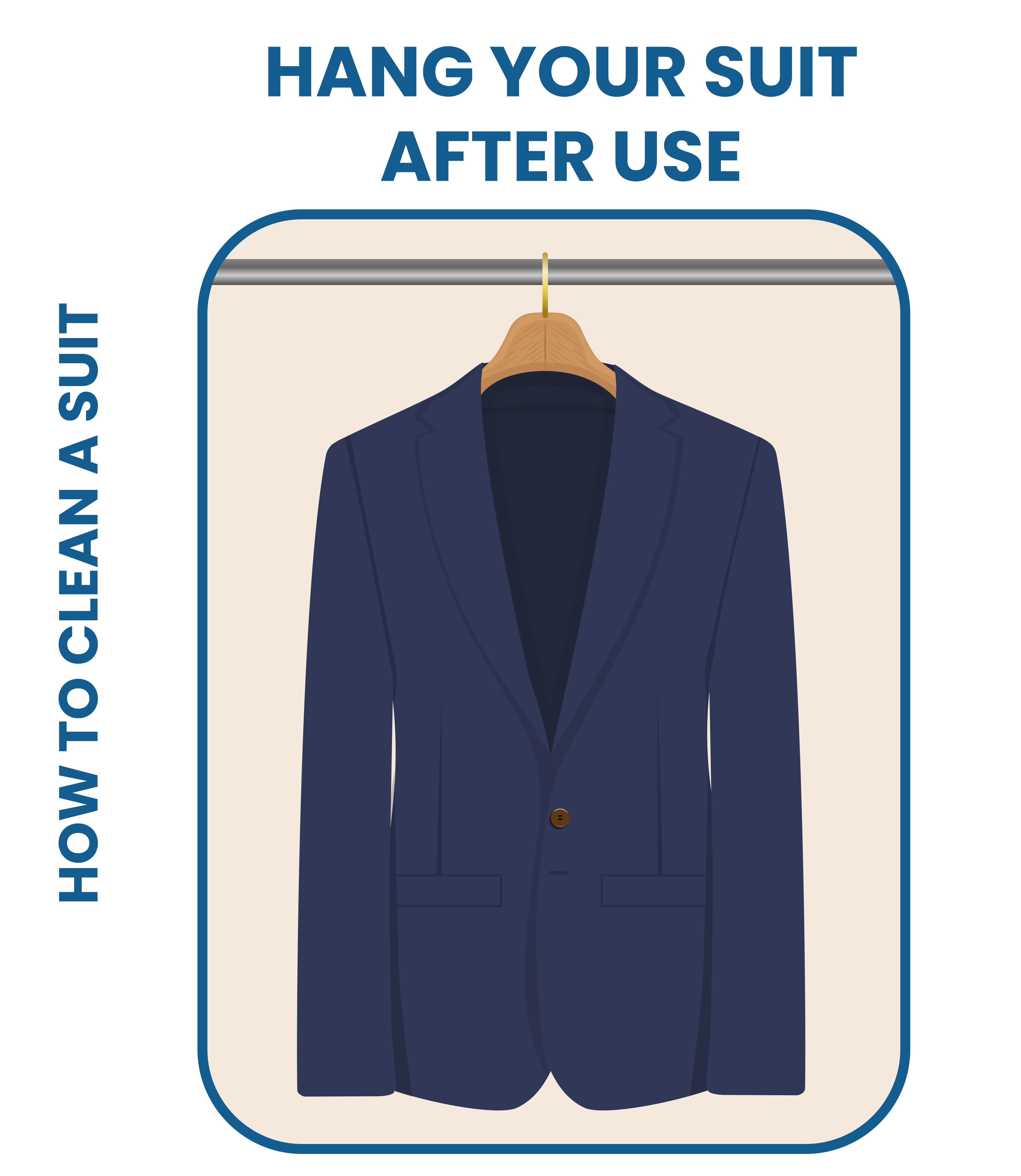 hang your suit after use