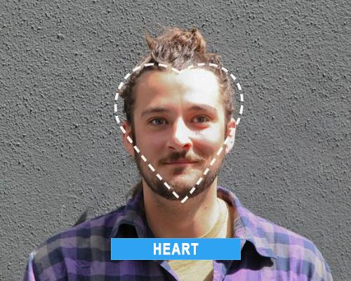 heart face shape