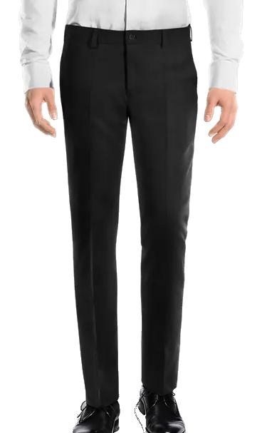 Hockerty premium wool black slacks