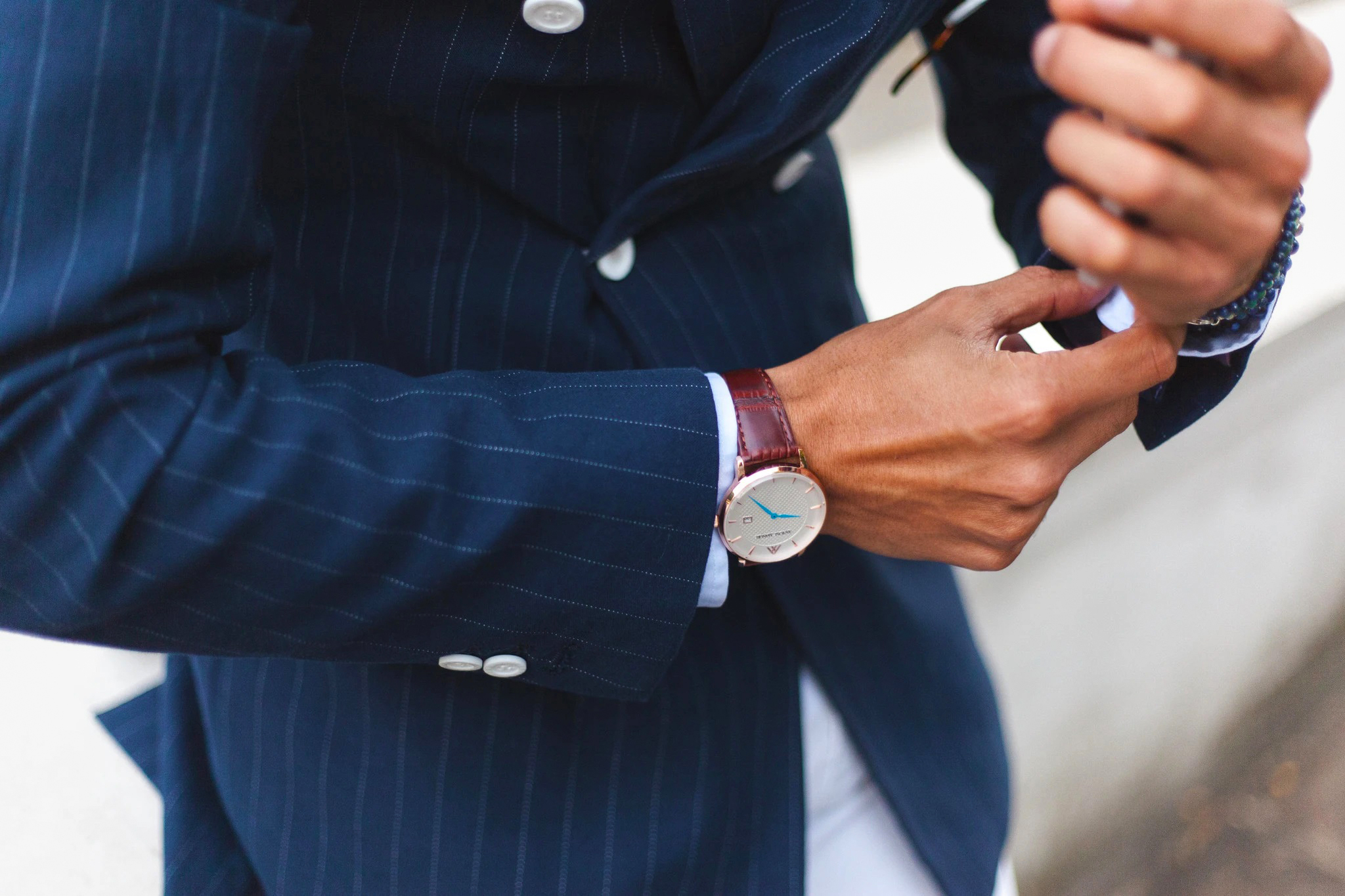 How To Match Your Watch to Your Suit