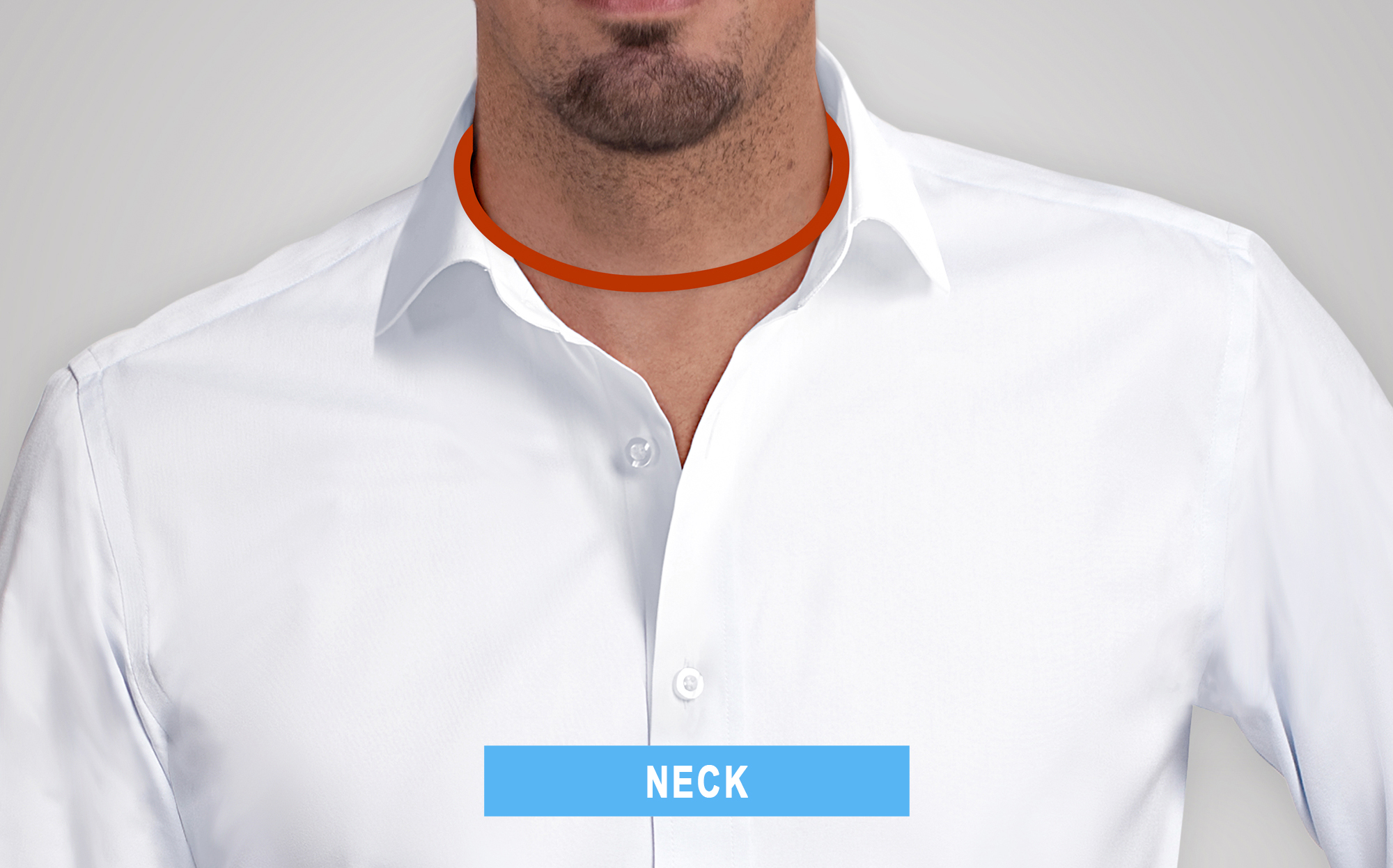 how to measure neck circumference