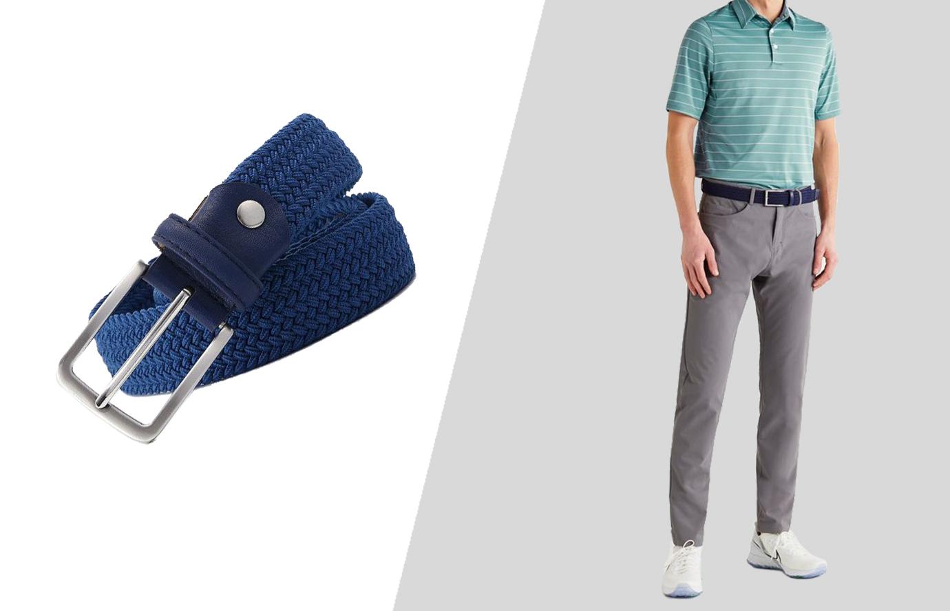 how to wear casual dress belt