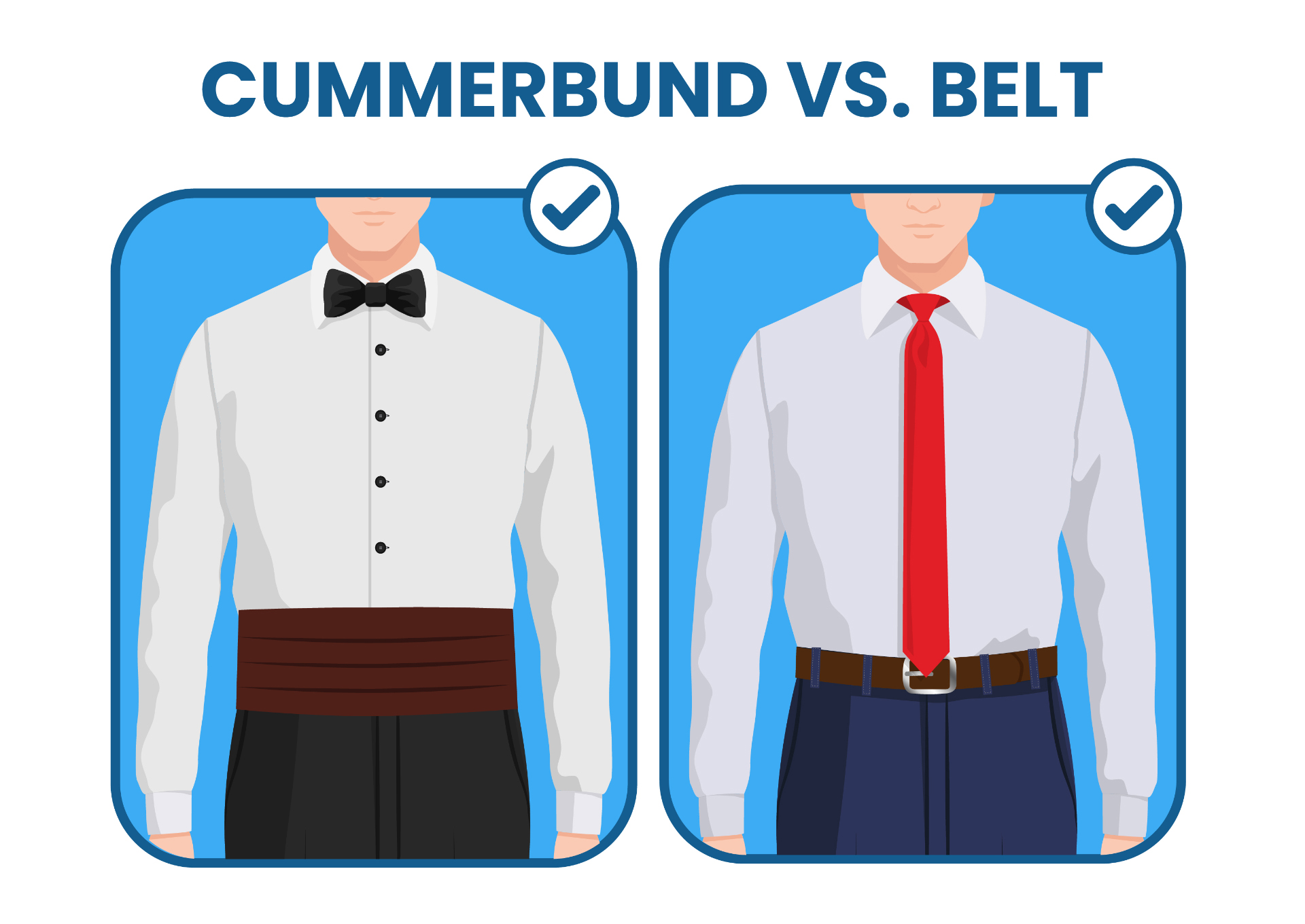cummerband vs. belt
