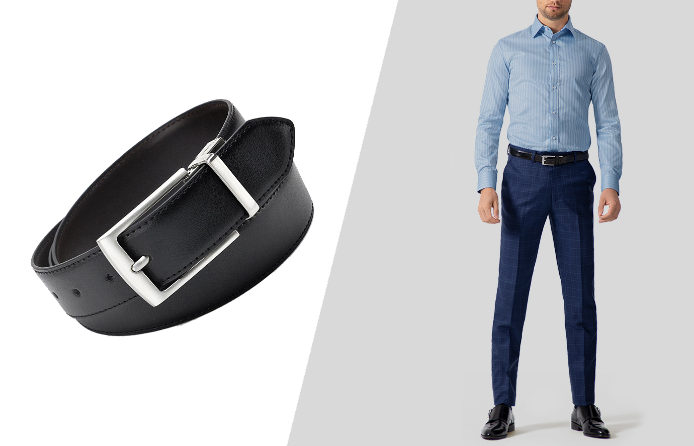 how to wear formal dress belt