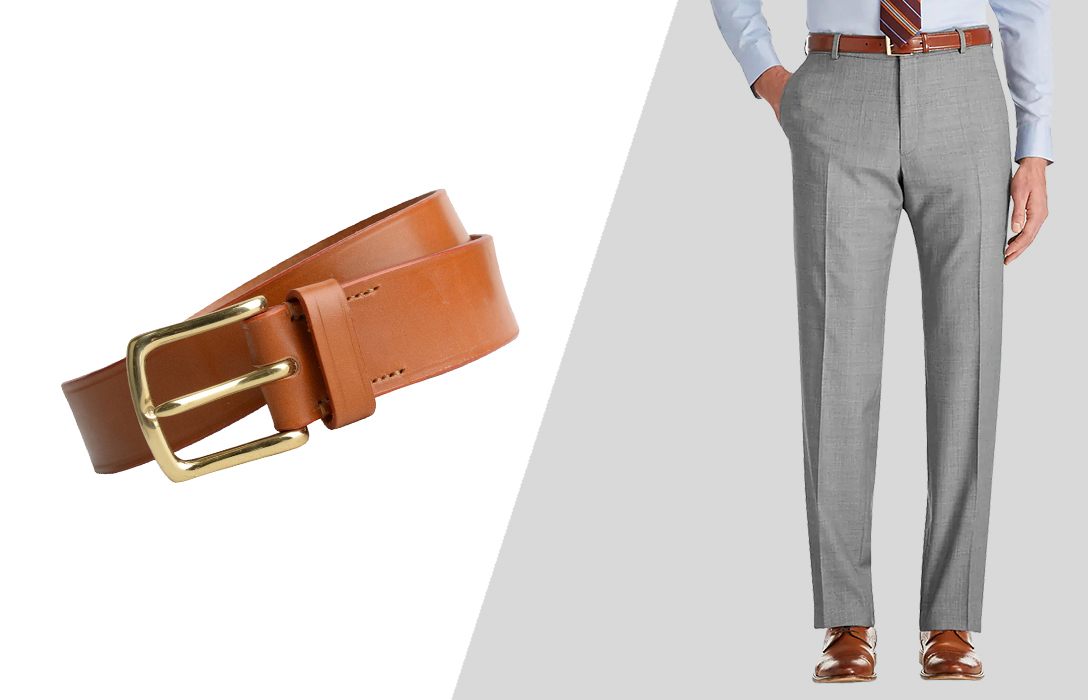 how to wear light brown belts