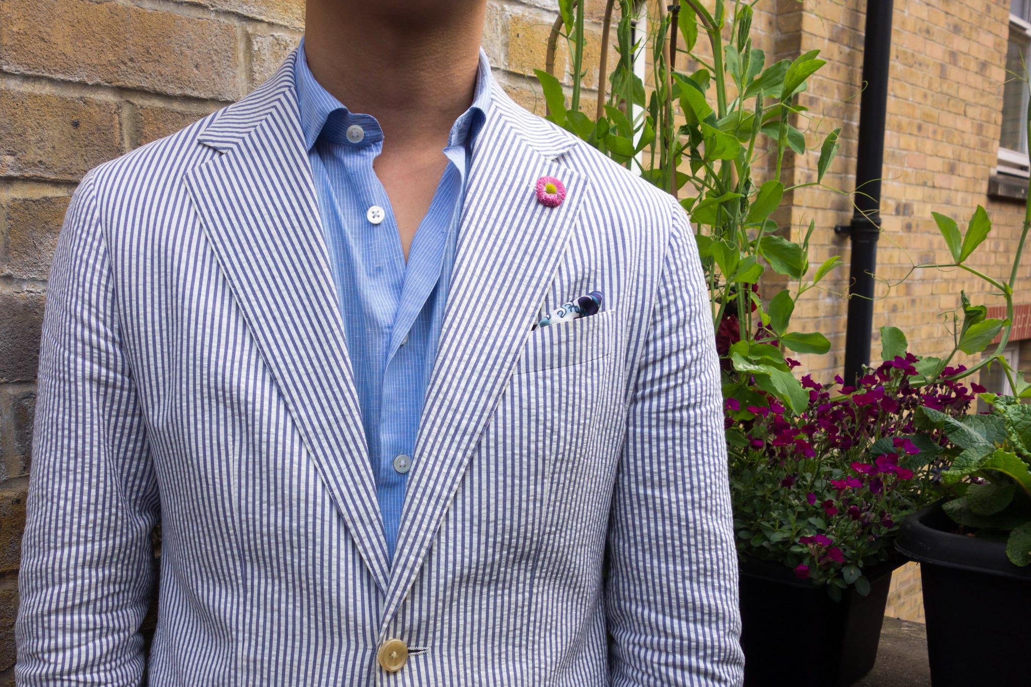 how to wear seersucker suit jacket