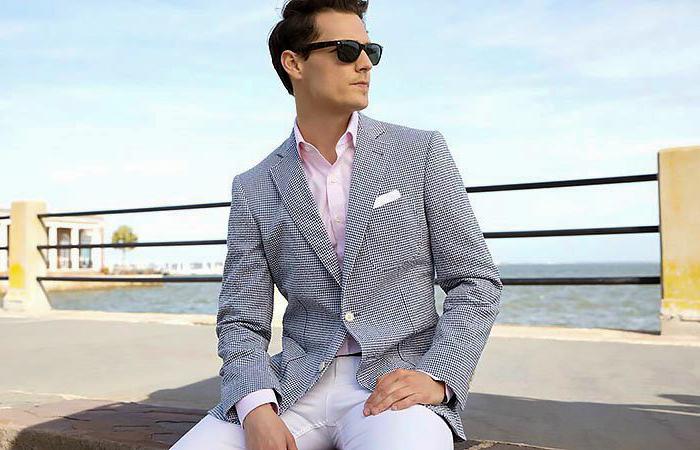 how to separate seersucker suit jacket and pants