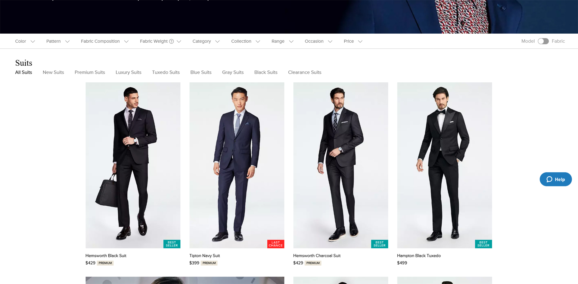 Indochino custom made-to-measure suit shop