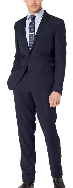 Slim fit navy suit by Kenneth Cole REACTION