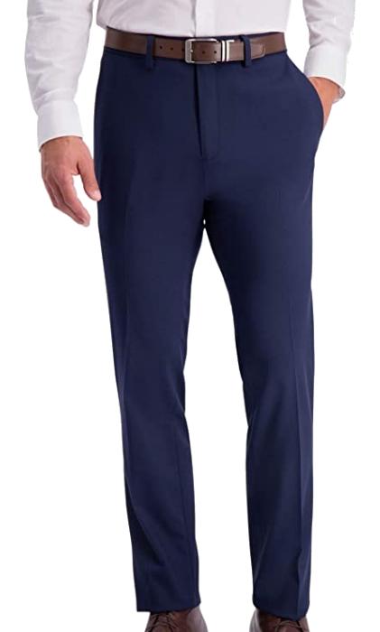 Kenneth Cole Reaction slim fit blue dress pants