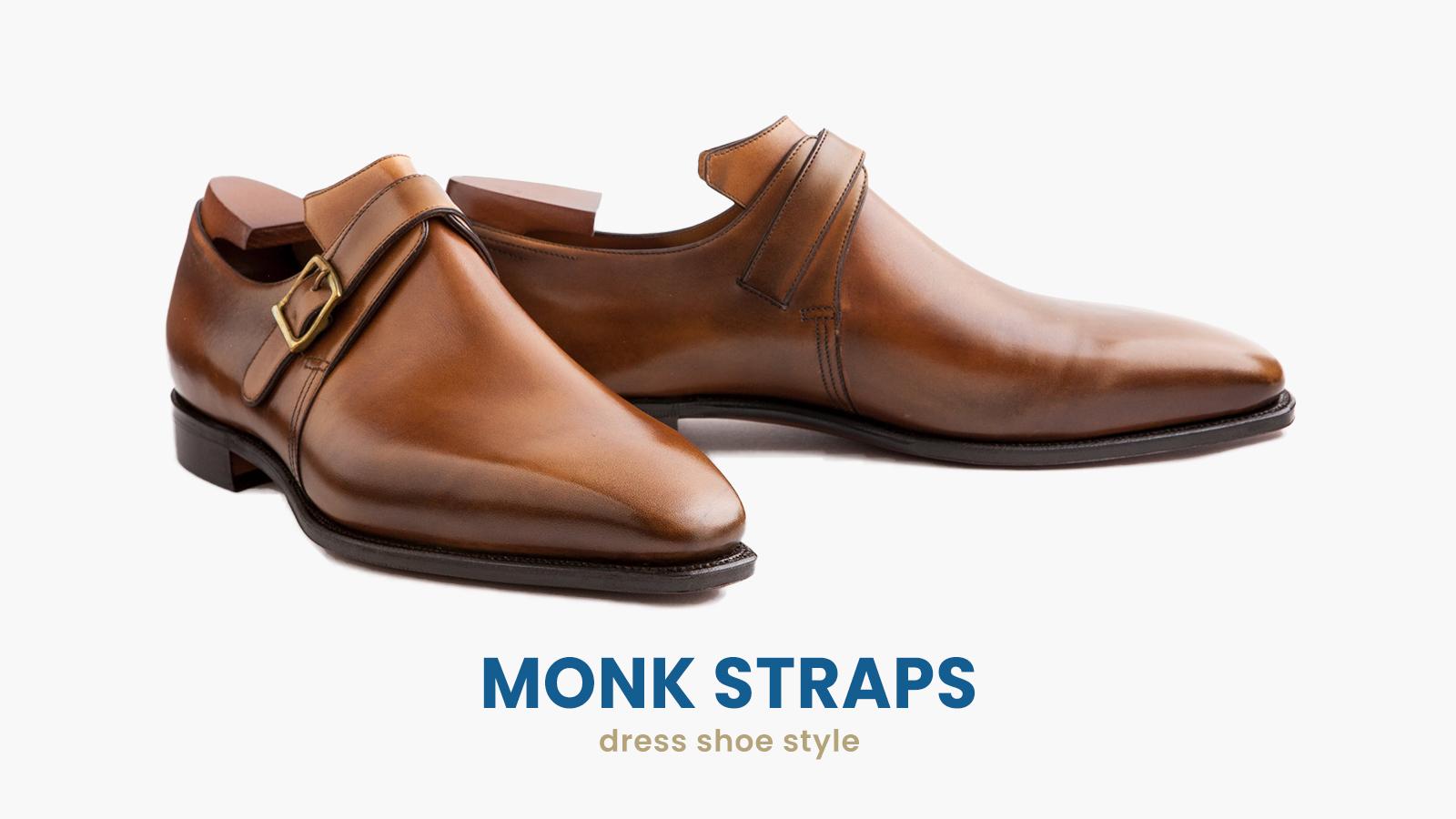 monk straps dress shoes style