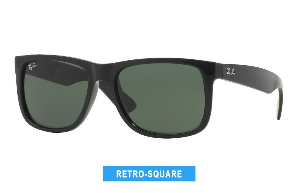 retro-square sunglasses