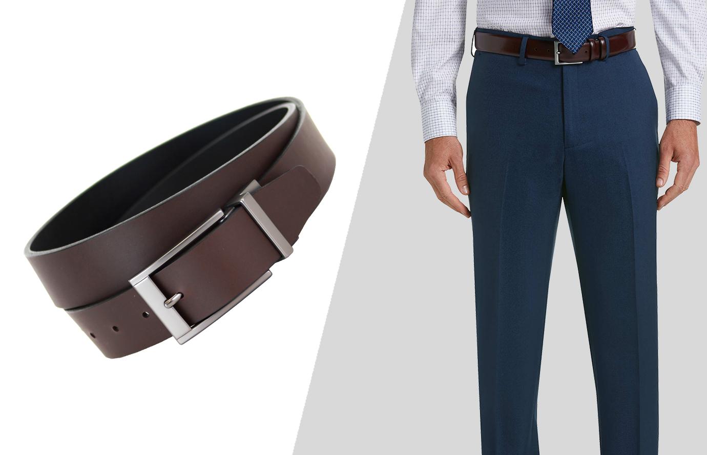 suit accessories: the belt