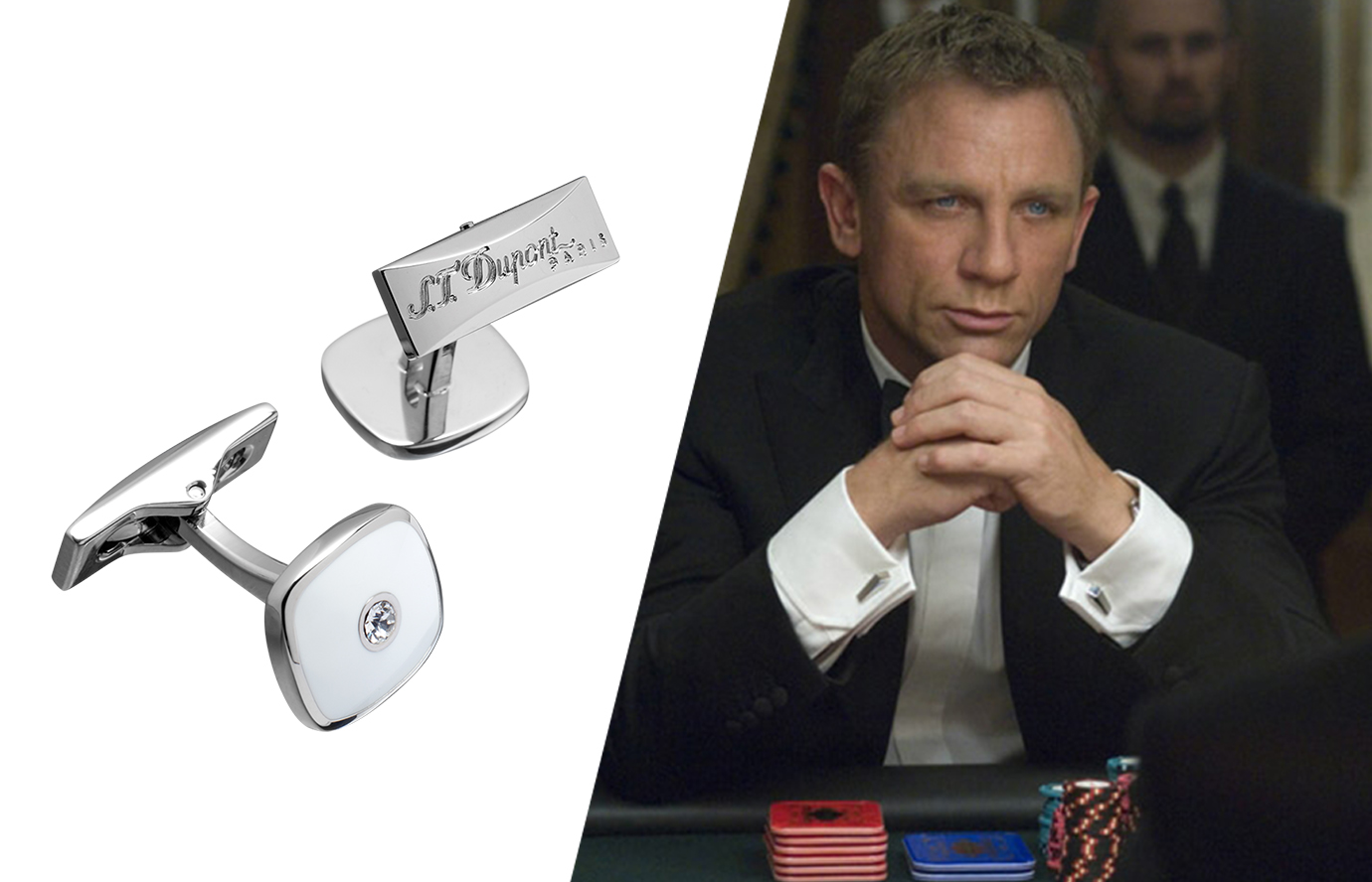 suit accessories: the cufflinks