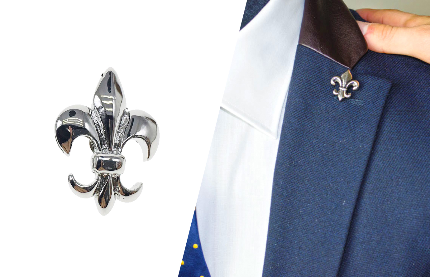 suit accessories: the lapel pin