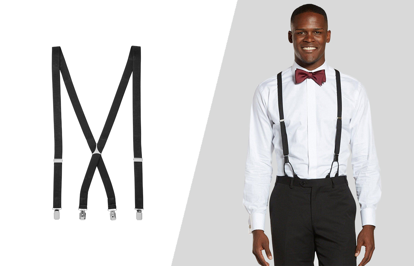 suit accessories: the suspenders