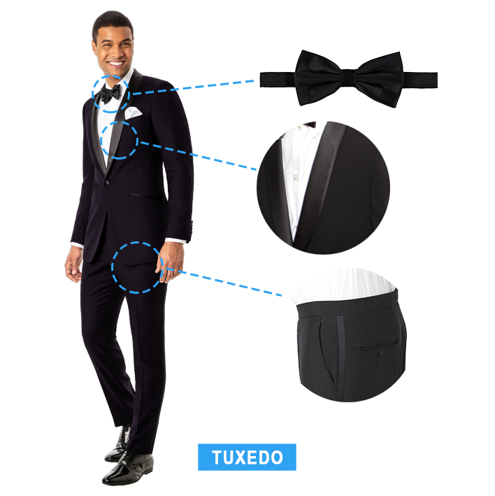 what is a tuxedo: key features
