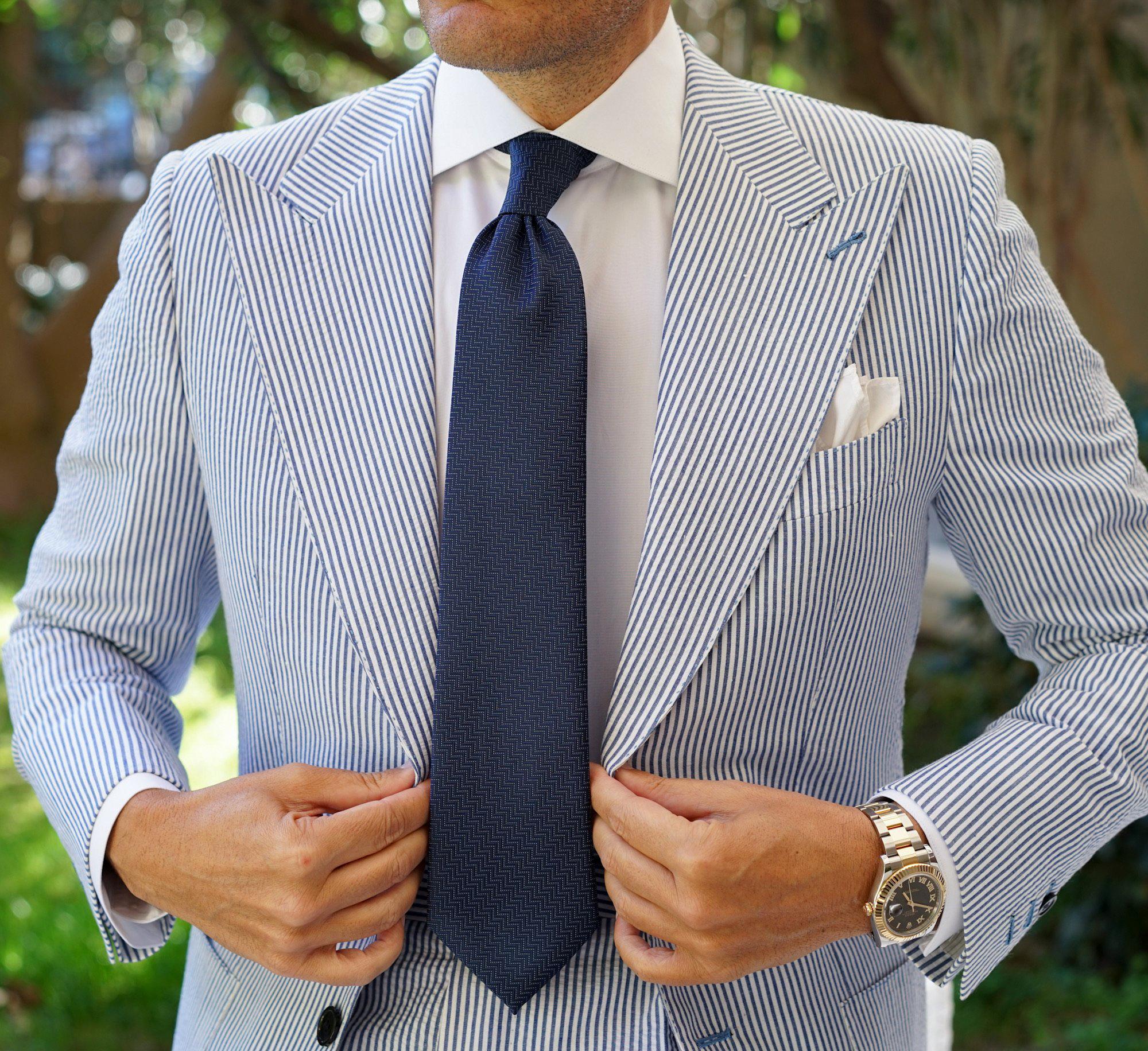 wearing seersucker suit for semi-formal events