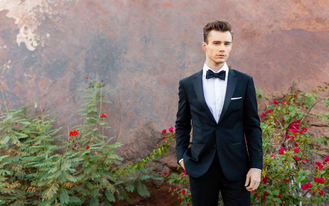Wedding attire dress code for men