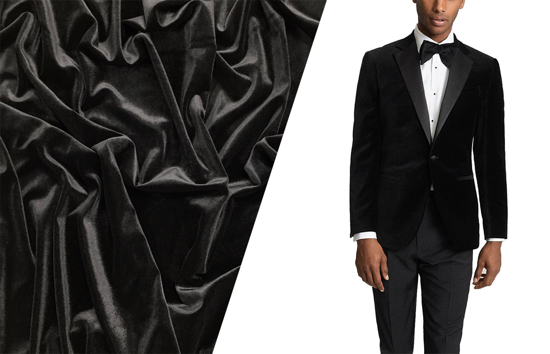 what is and how to wear a velvet suit